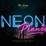 Neon Planet Display Typeface