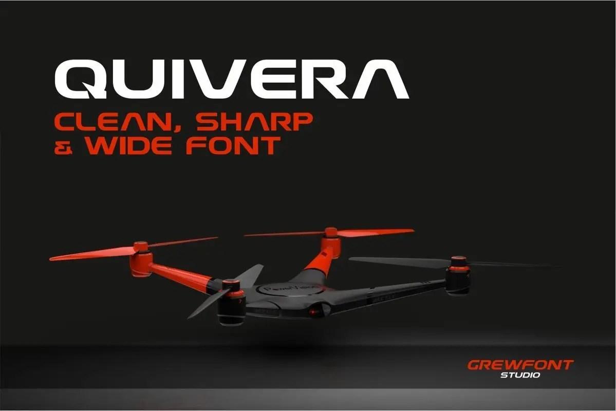 Quivera Modern Display Font-2