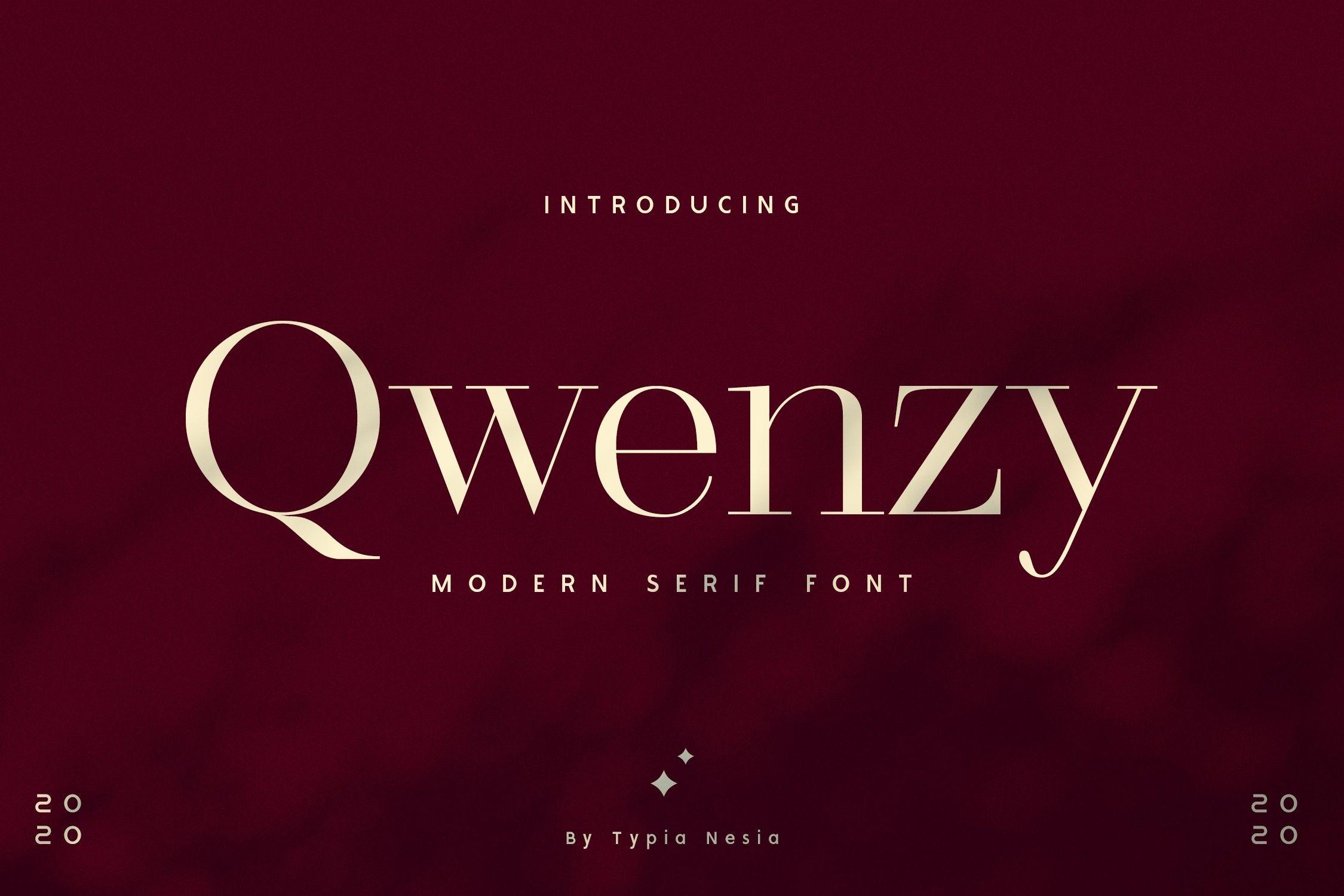 Qwenzy Modern Serif Font-1 (1)