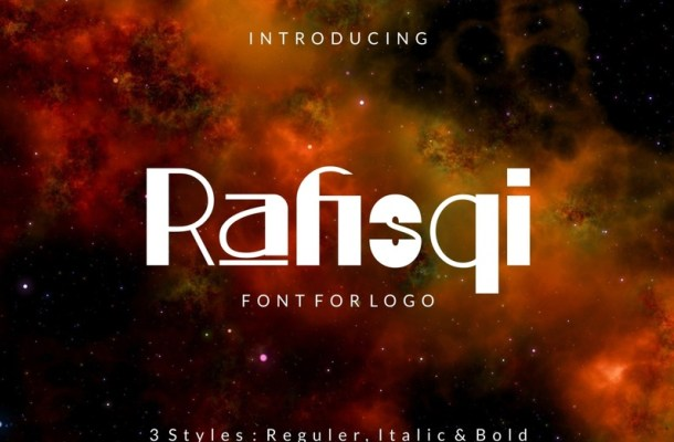 Rafisqi Display Font