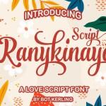 Ranykinaya Calligraphy Script Font
