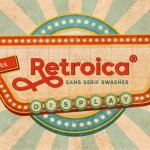 Retroica Sans serif Basic Font