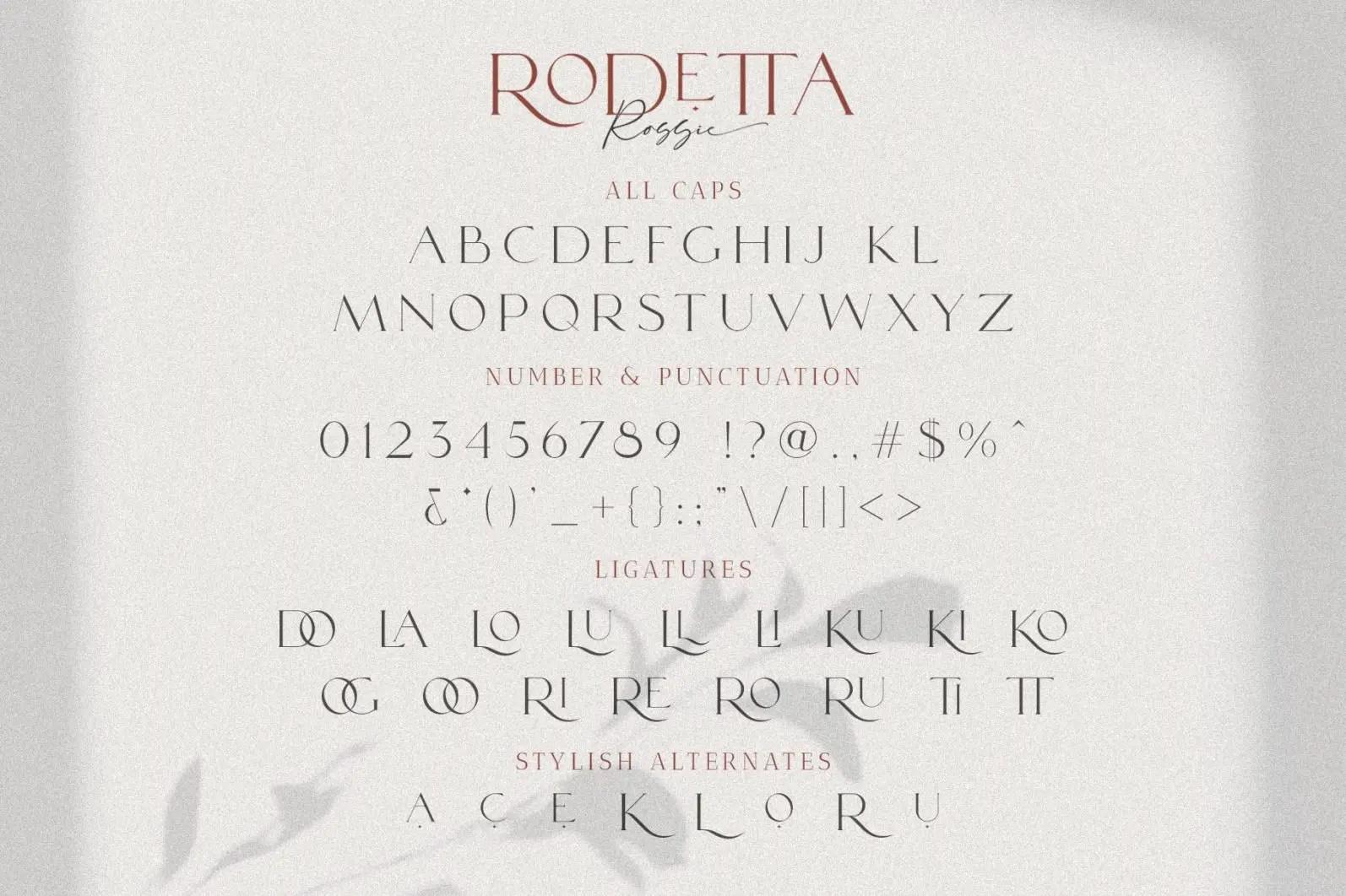 Rodetta Rossie Serif Font-3