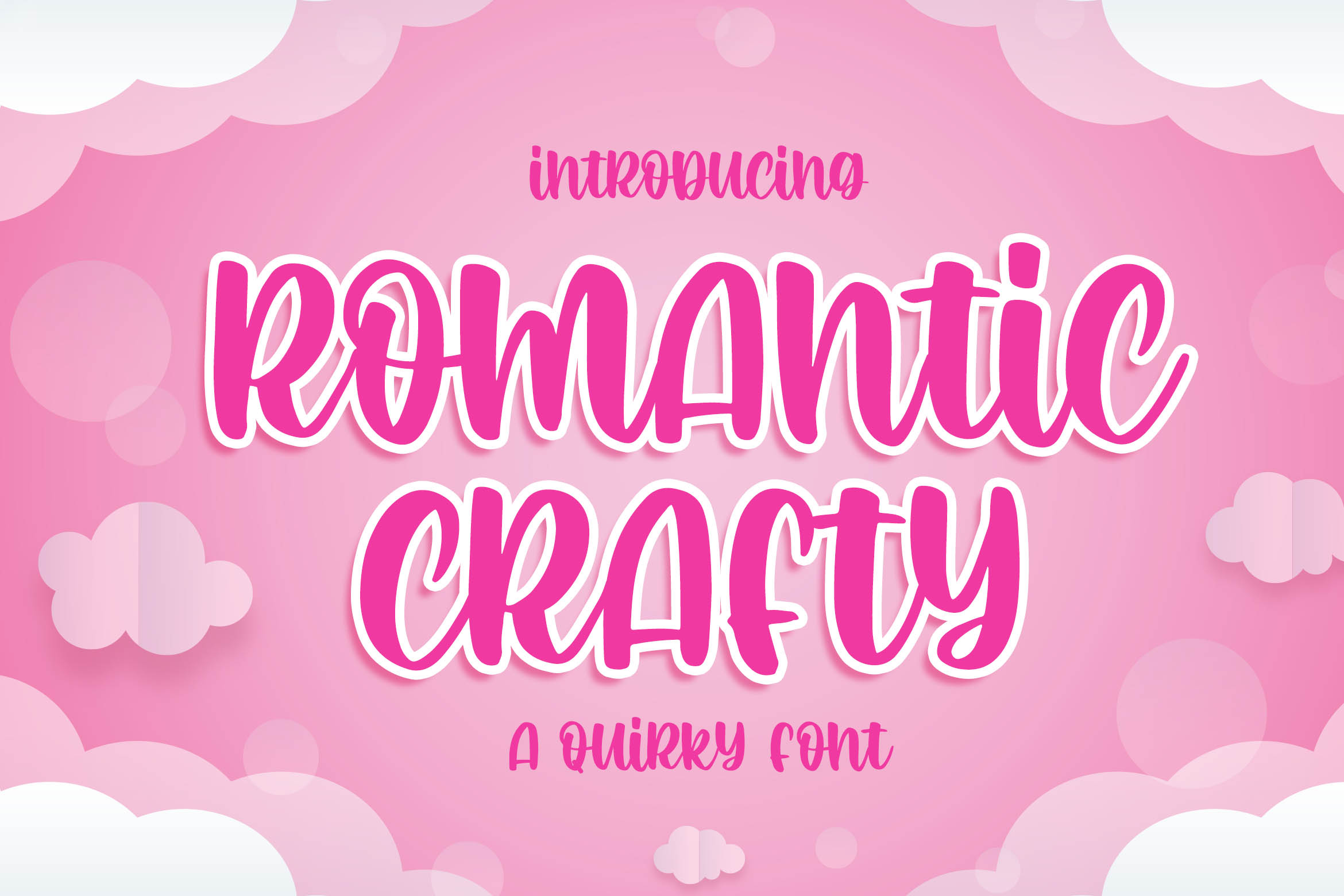 Romantic Crafty Quirky Display Font-1