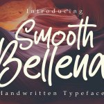 Smooth Bellena Script Handwritten Typeface