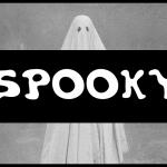 Spooky Display Horror Font