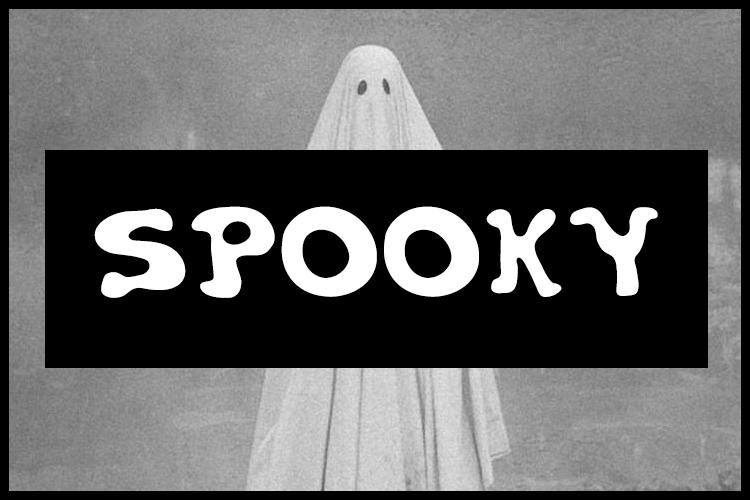 Spooky Display Horror Font-1