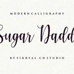 Sugar Daddy Modern Calligraphy Script Font