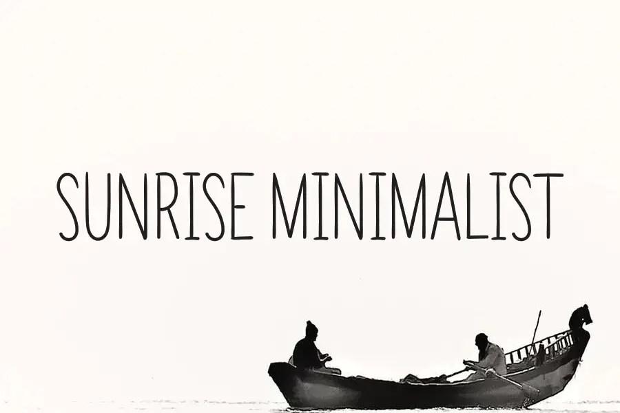 Sunrise Minimalist Serif Font-1