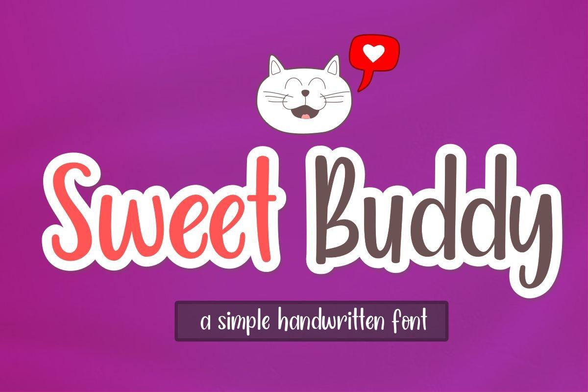 Sweet Buddy Script Font-1