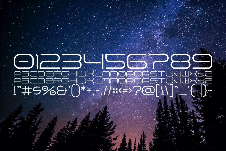 Terbaang Space Sans Serif Font-3