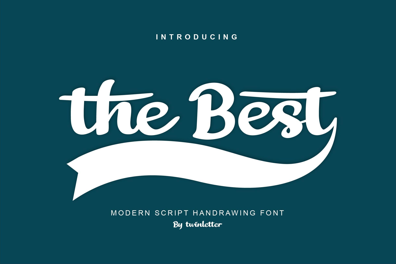 The Best Script Handwritten Font-1 (1)