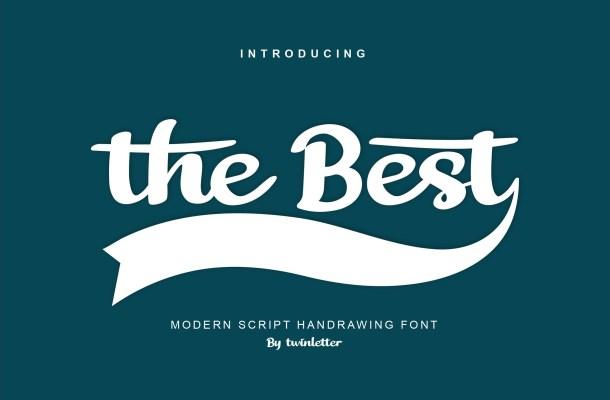 The Best Script Handwritten Font