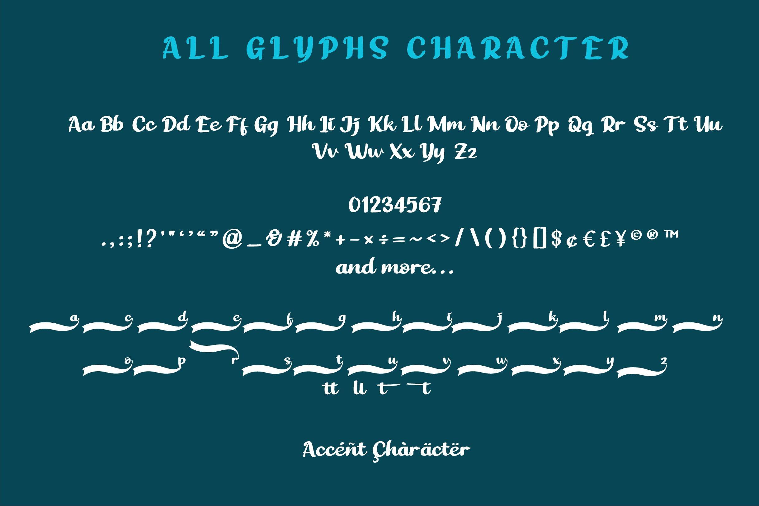 The Best Script Handwritten Font-3