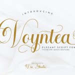 Voyntea Elegant Calligraphy Script Font