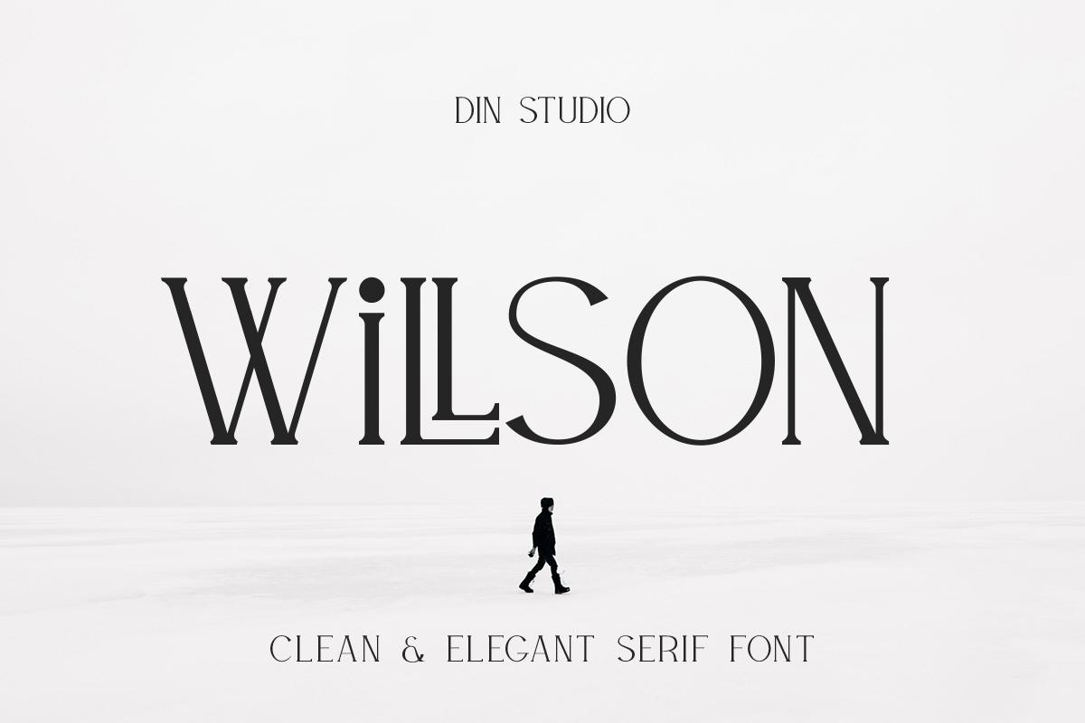 Willson Clean Serif Font-1