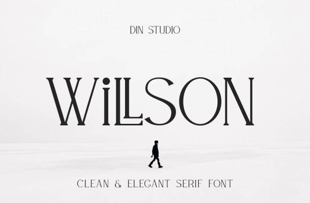 Willson Clean Serif Font