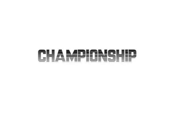 Championship Fancy Font