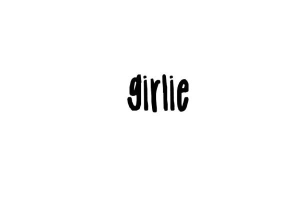 Girlie Handwritten Script Font