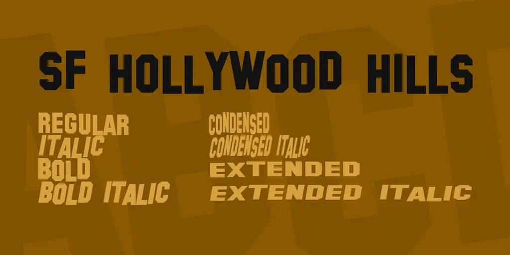 sf-hollywood-hills-font-2-big