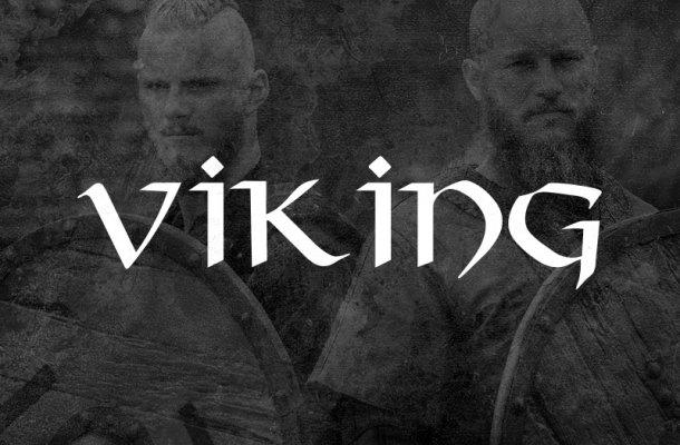 Viking Horror Font