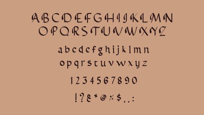 Abbasy Calligraphy Script Font-1