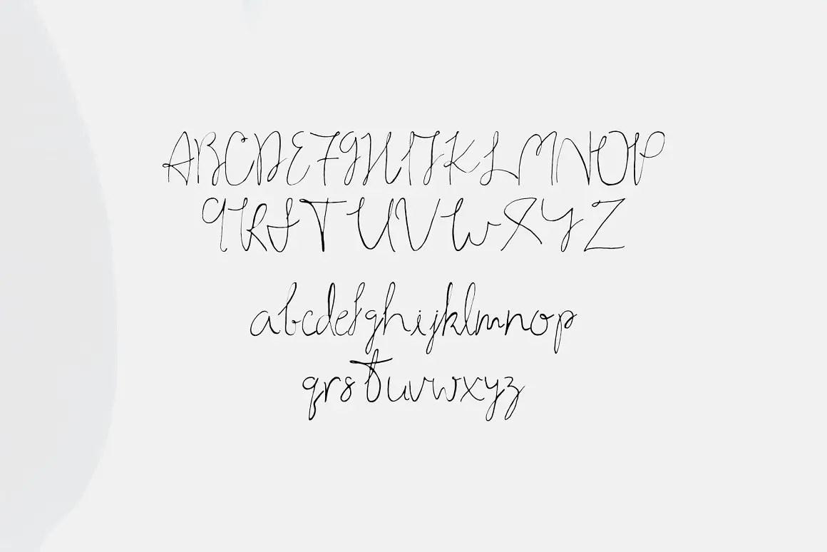 Ahsan Calligraphy Script Font-3