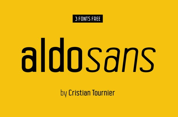 Aldo Sans Serif Font Family
