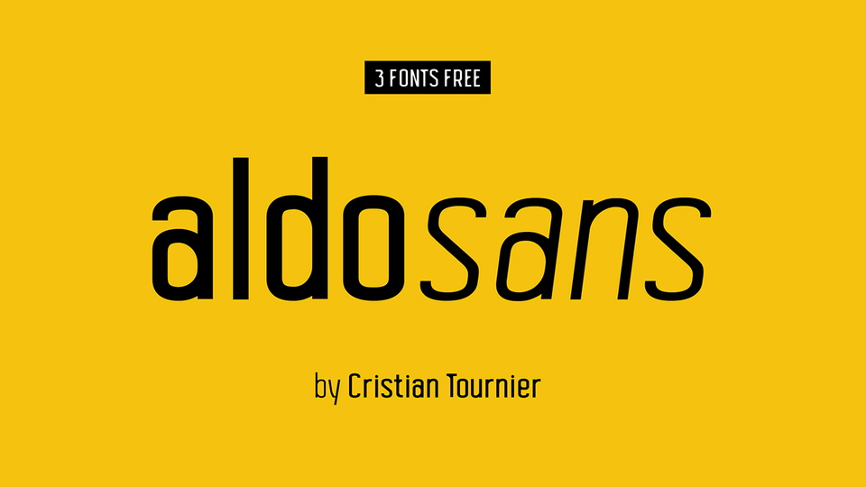 Aldo Sans Serif Font Family-1