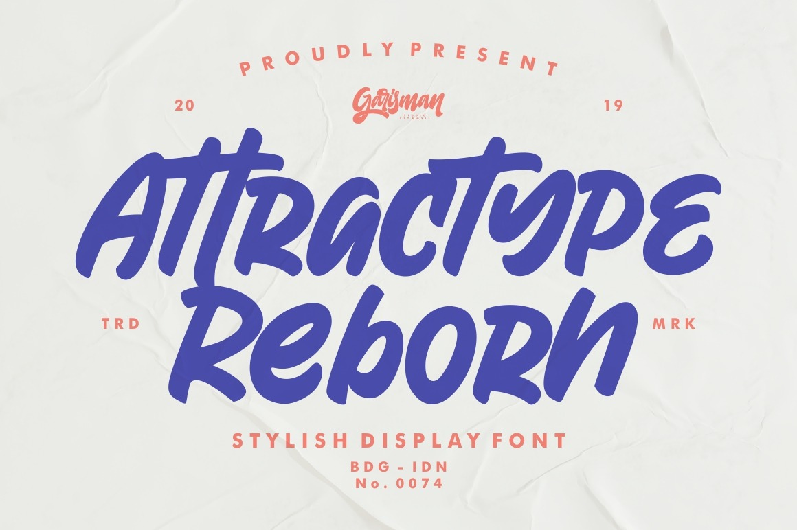Attractype Reborn Stylish Display Brush Font-1