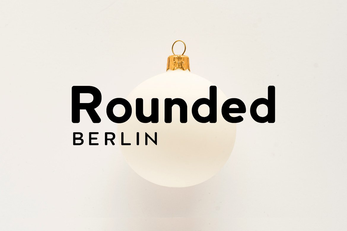Berlin Rounded Sans Serif Typeface-1