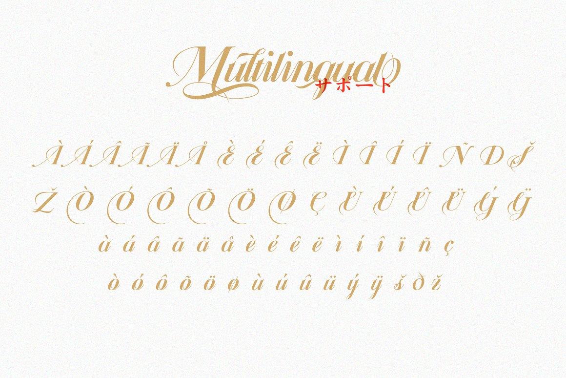 Daizen Script Calligraphy Font-3