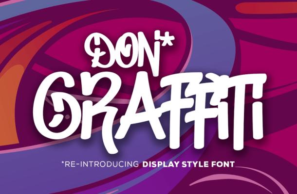 Don Graffiti Script Font