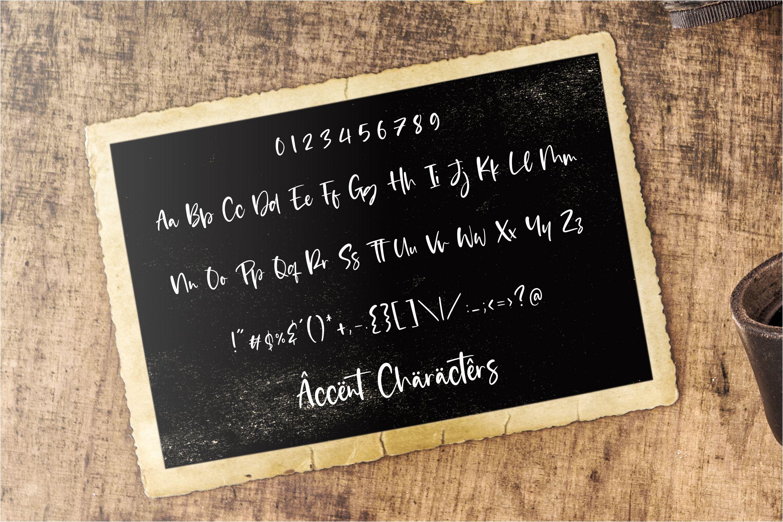 Eastwood Handwritten Script Font-3
