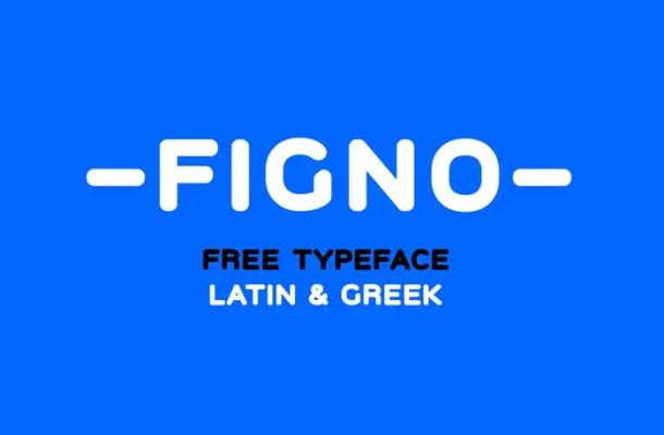 Figno Free Sans Serif Typeface