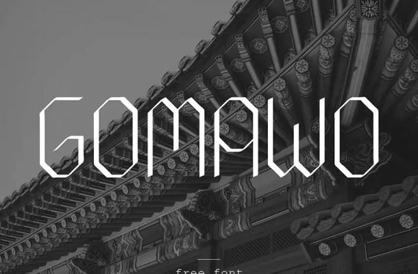 Gomawo Modern Font
