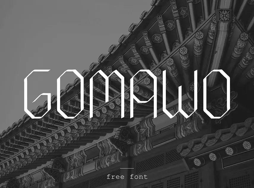 Gomawo Modern Font-1