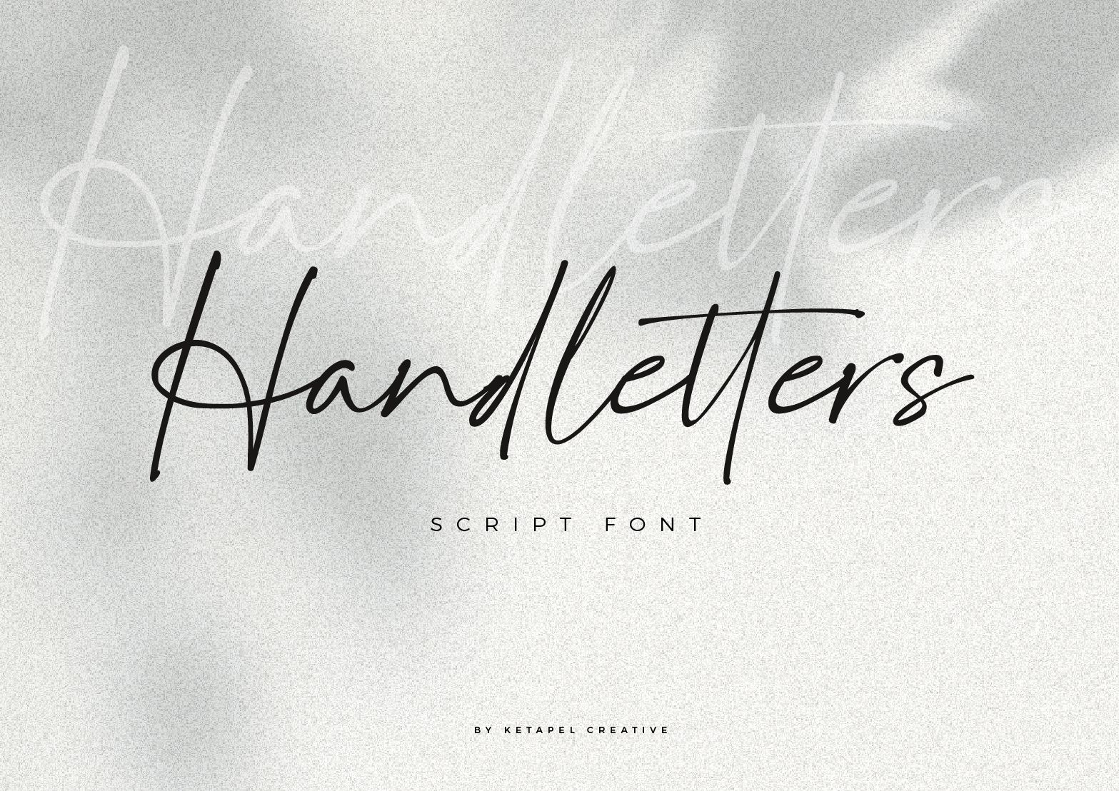 Handletters Handwritten Script Font-1