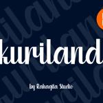 Kuriland Fancy Font
