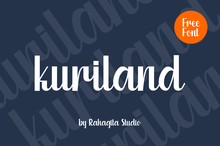 Kuriland Fancy Font-1