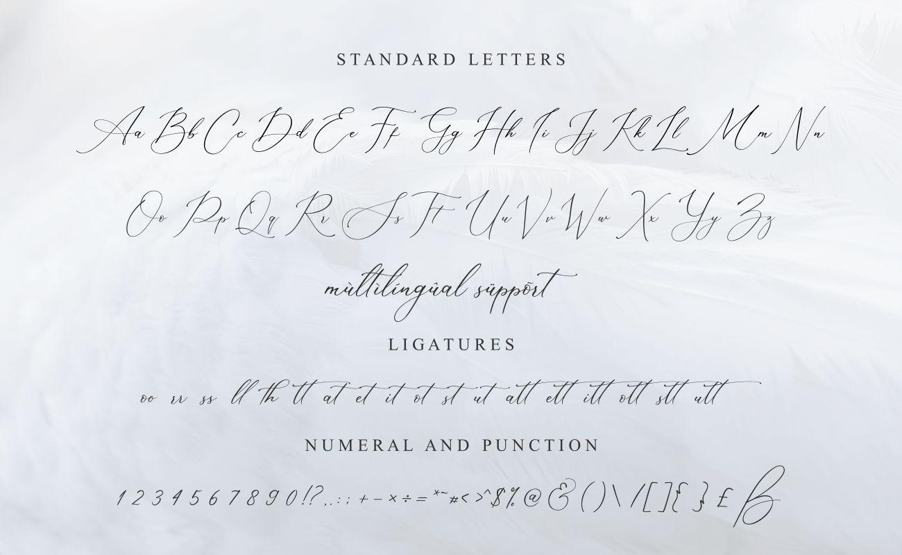 Muttaqin Modern Script Calligraphy Font-3