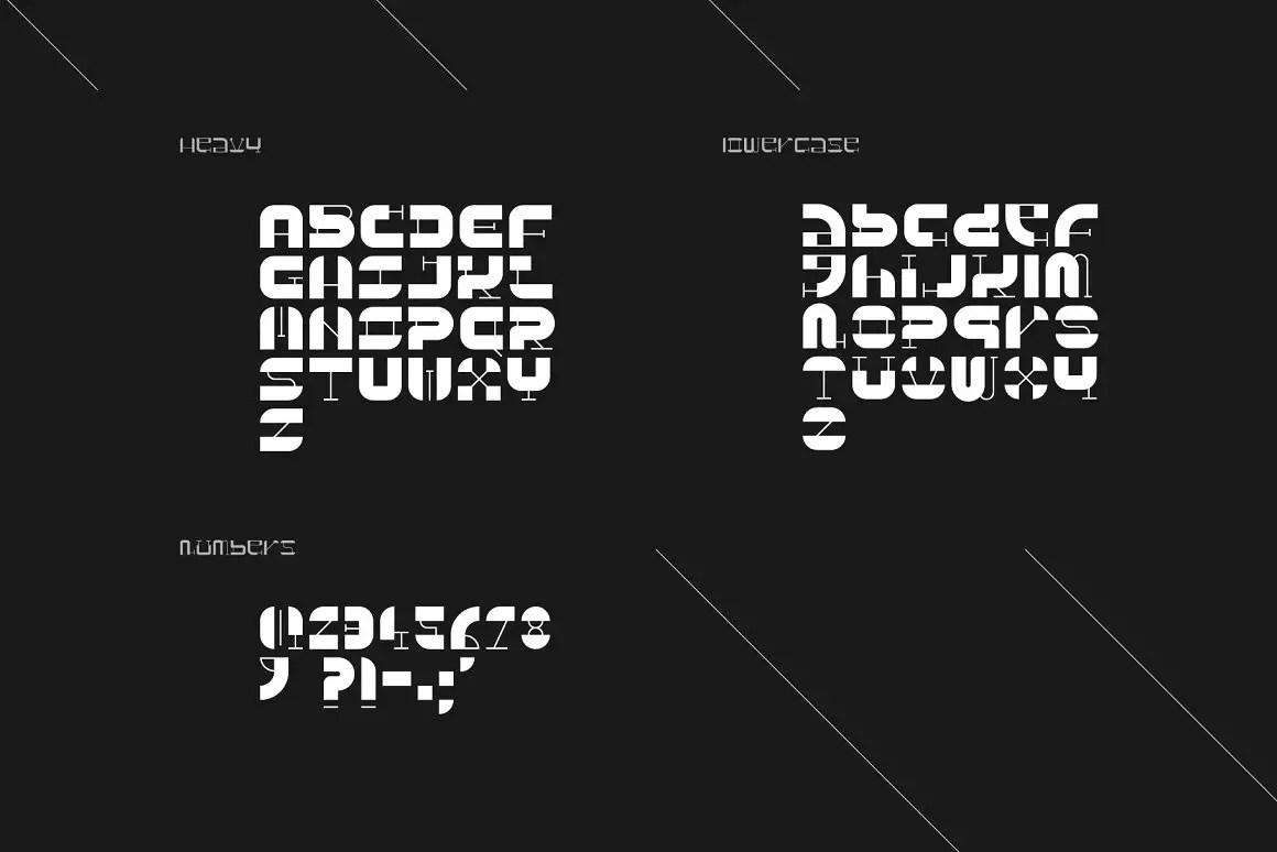 NERA Display Font-4