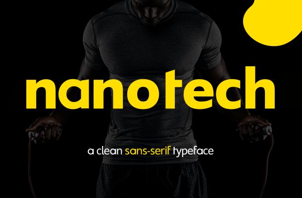 Nanotech LLC Sans Serif Typeface