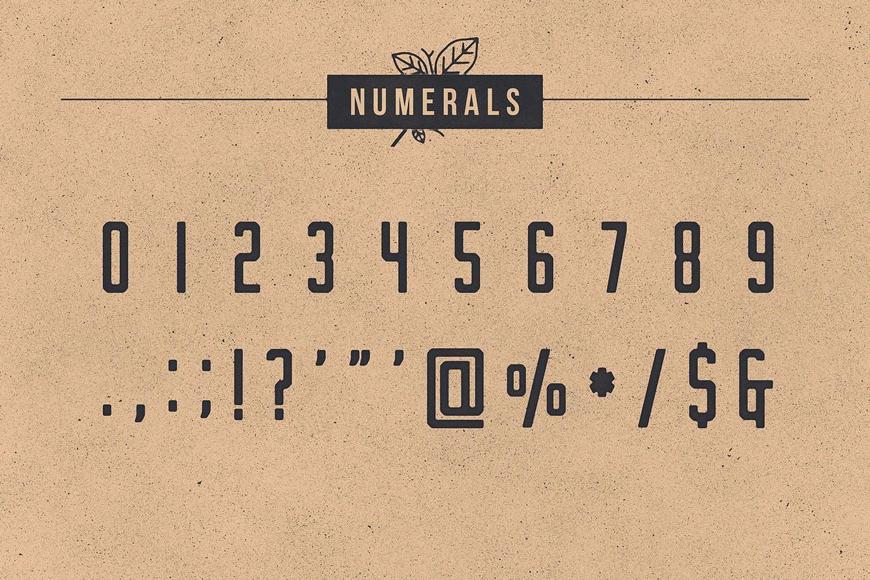 Nomads The Farmer Original Typeface-4