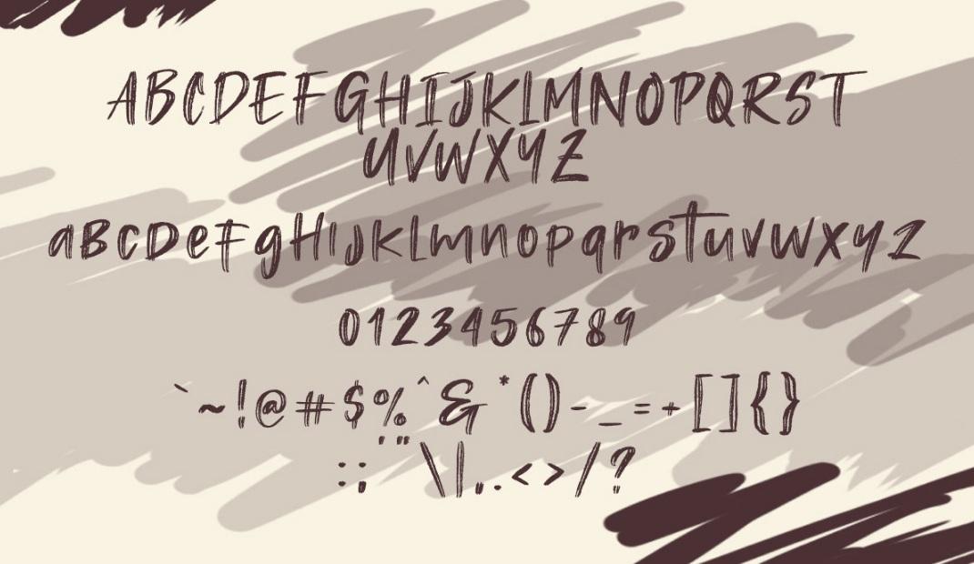Rastazm Script Font-1