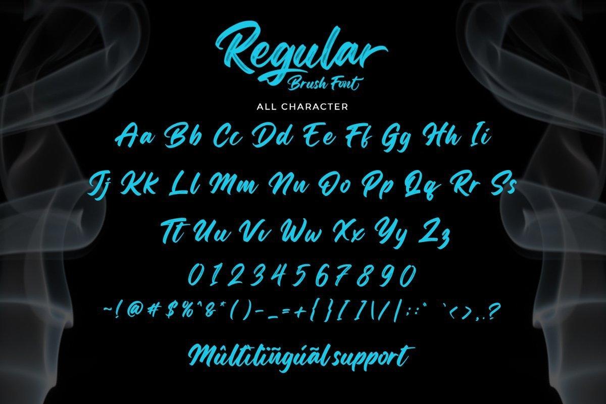 Regular-Brush-Script-Font-3