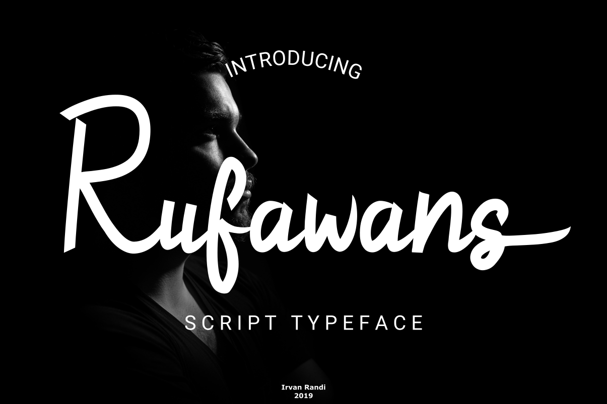Rufawans Script Handwritten Font-1