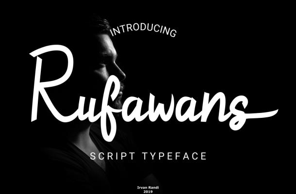 Rufawans Script Handwritten Typeface