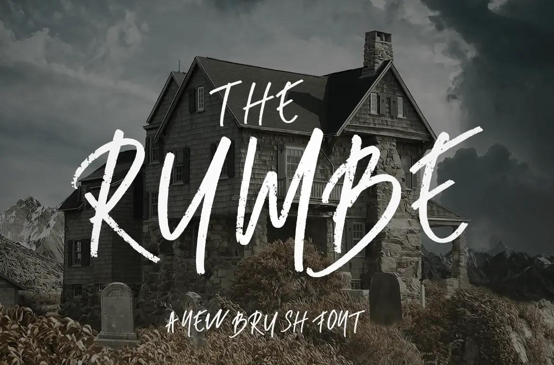 Rumbe Brush Script Font-1