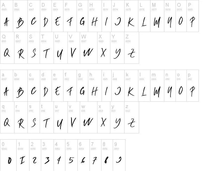 Rumbe Brush Script Font-2